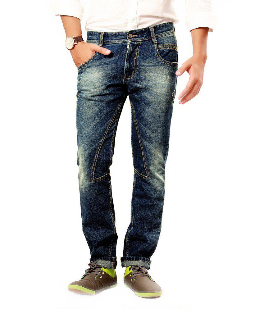 Uber Urban Blue Regular Fit Jeans