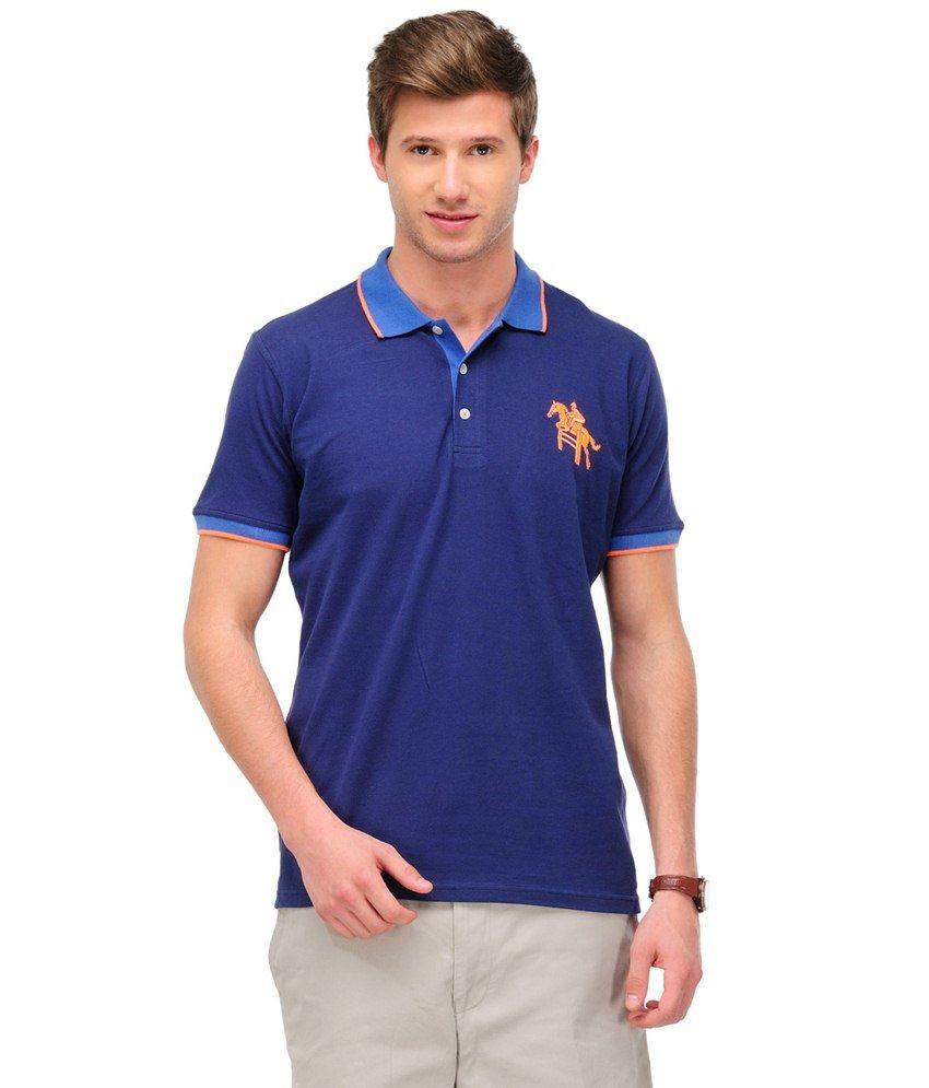 Yepme Purple Cotton T-shirt
