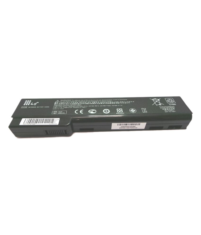 4d Hp Qk639aa 6 Cell Laptop Battery