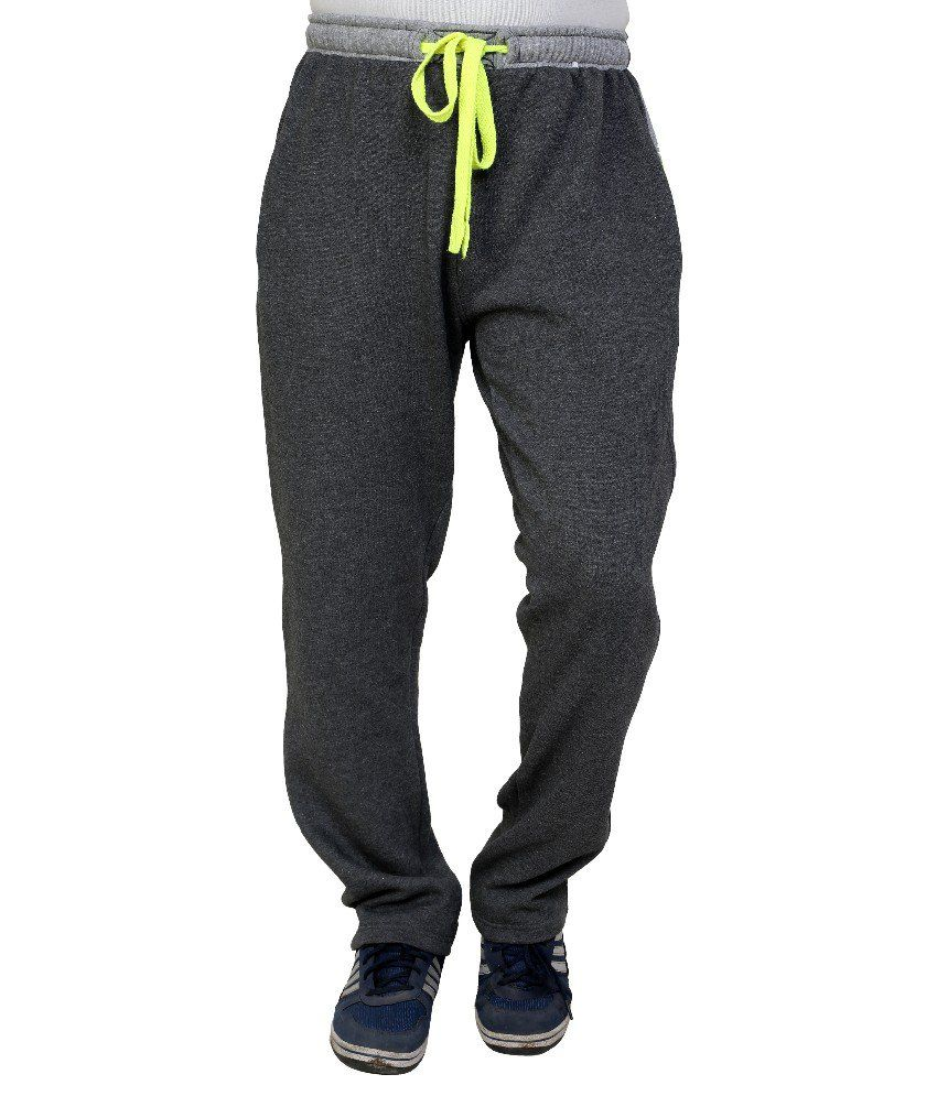 Dida  Grey Fleece Trackpant