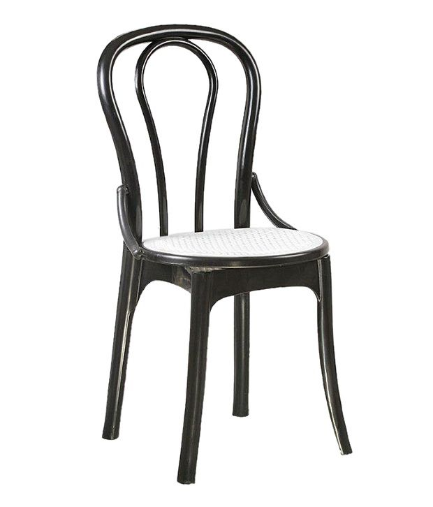Supreme Pearl Cane Without Arm Chairs Set Of 4 Chairs