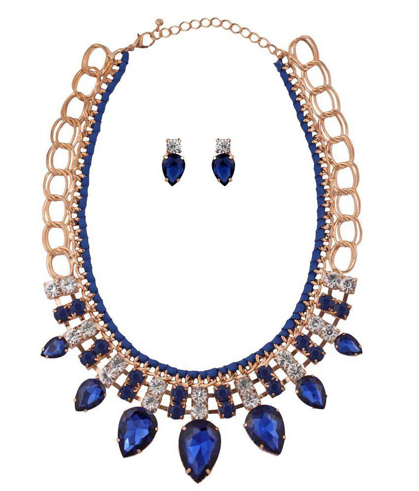 b227afa1b Abrazo Blue Costume Jewellery - Buy Abrazo Blue Costume Jewellery Online at Best  Prices in India on Snapdeal