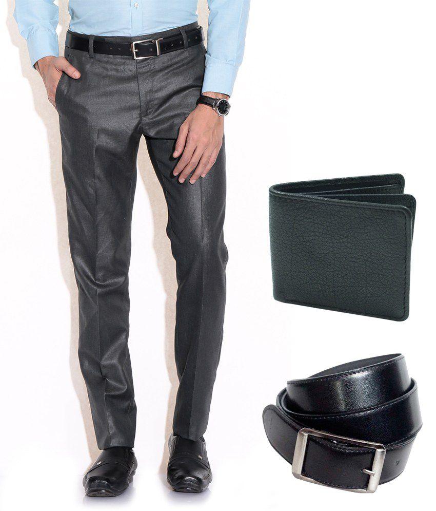 Fizzaro Black Regular Formals (pack Of 3)