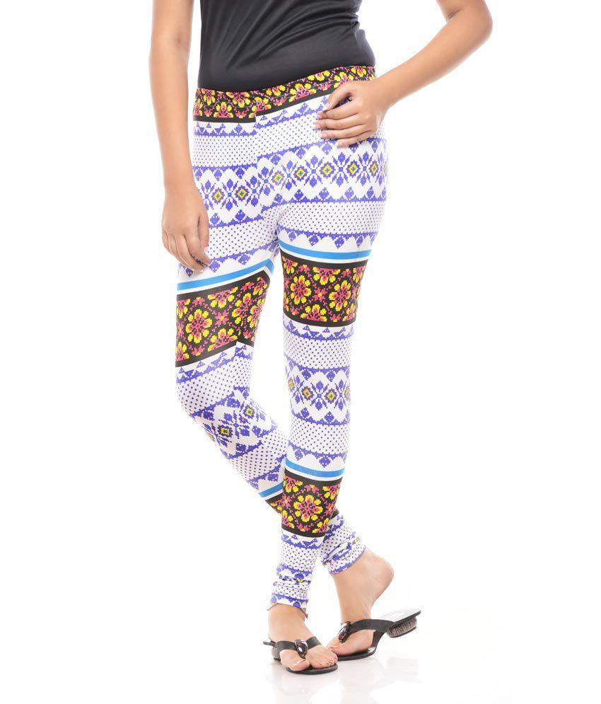 Global Trendz Multi Color Cotton Lycra Jeggings