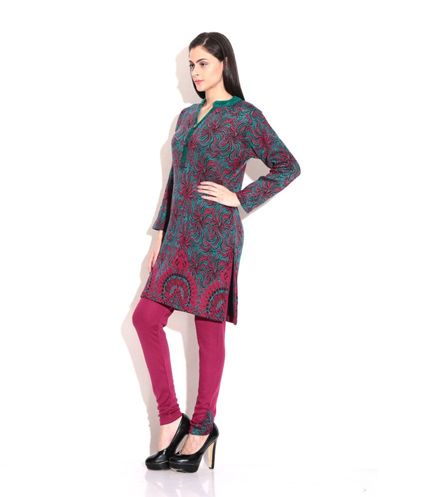 Looks - Woolen stylish kurti video
