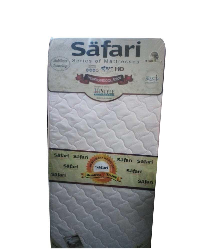 hi style queen size king size foam filled safari mattress 75x70x6