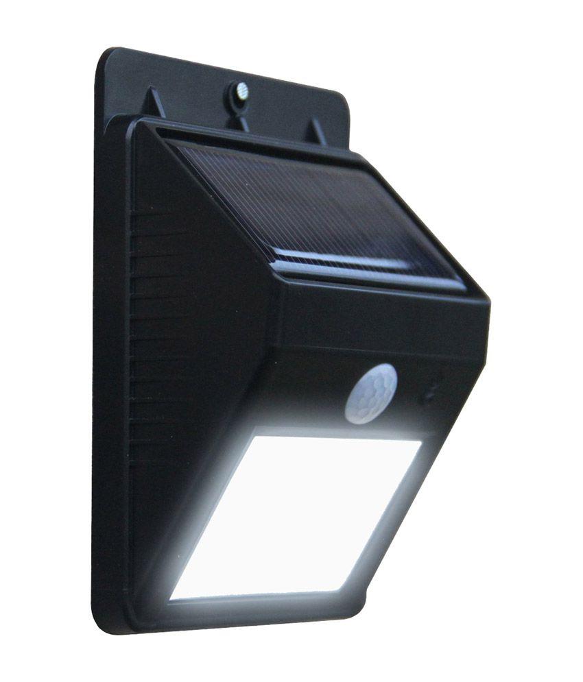 Quace 2nd Gen 6 Led Wireless Solar Motion Sensor Lights Buy Quace