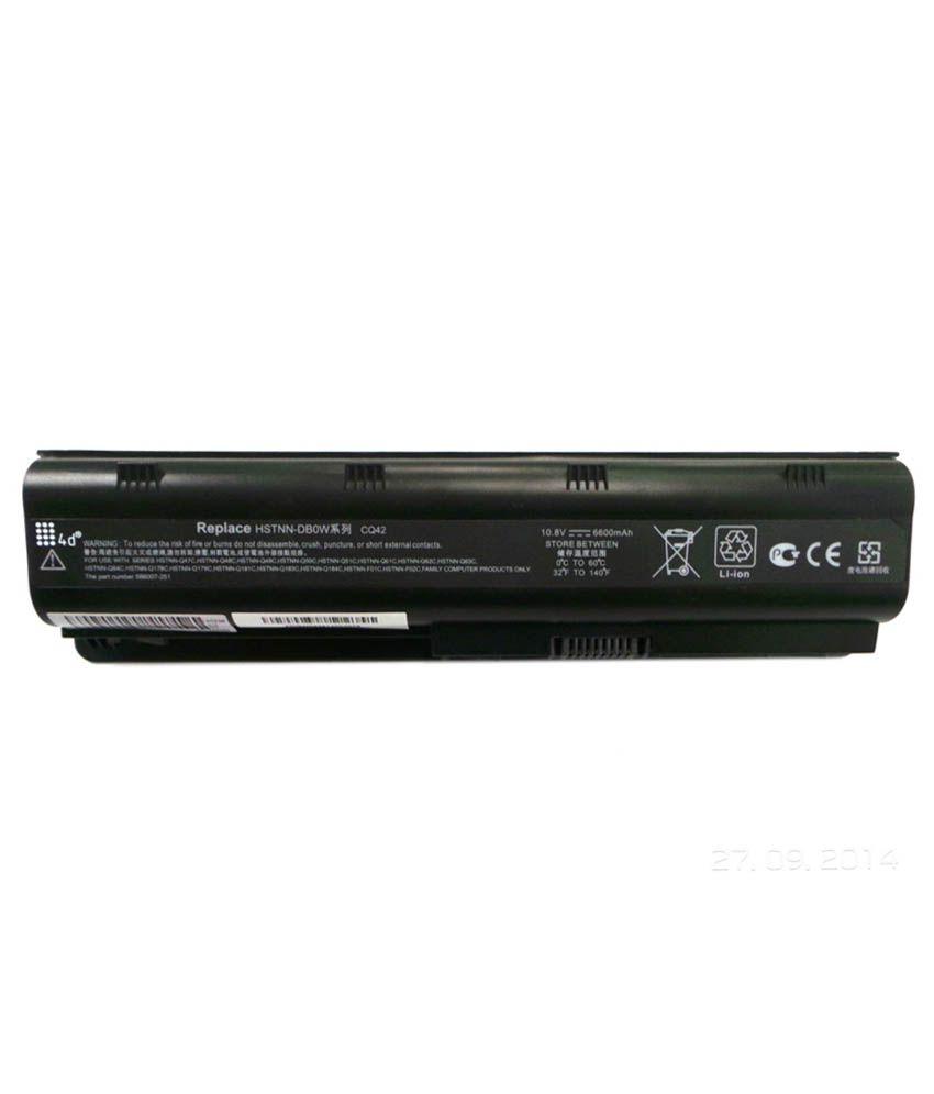 4d Hp Pavilion G62t 9 Cell Laptop Battery
