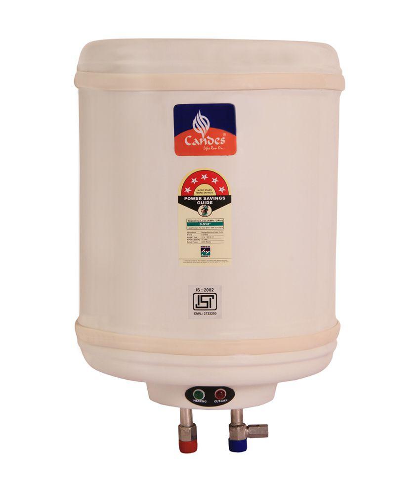 Candes Metal 6 Litres 500 W Storage Water Geyser