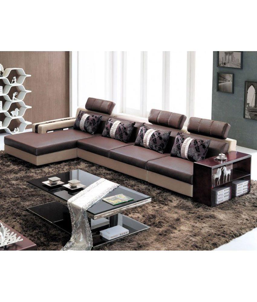 Sofa Sets Online: New Interhome Sofas Multicolor Natural Teek 4 Pieces