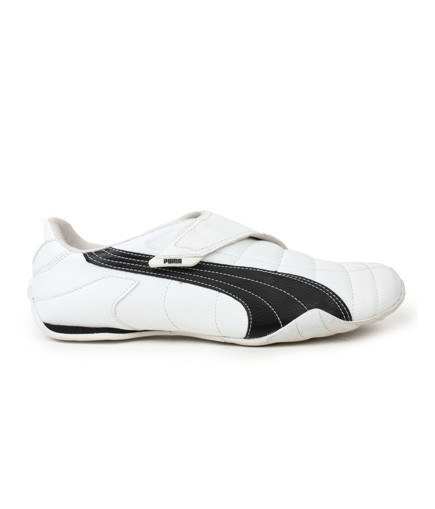 4a0d708f296cba Puma White Velcro Synthetic Leather Casual Shoes Puma White Velcro  Synthetic Leather Casual Shoes ...