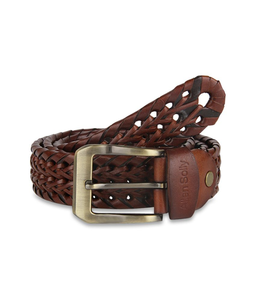 Allen Solly Leather Belt For Men