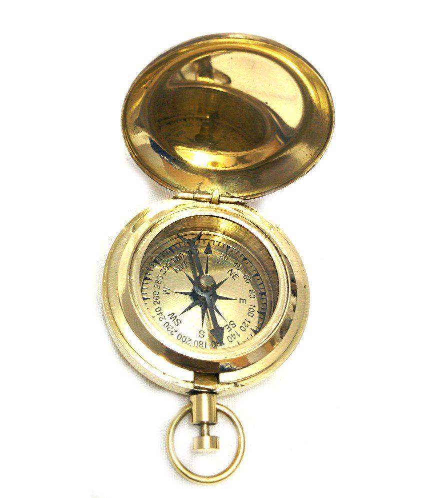 Artshai Push Button Magnetic Compass