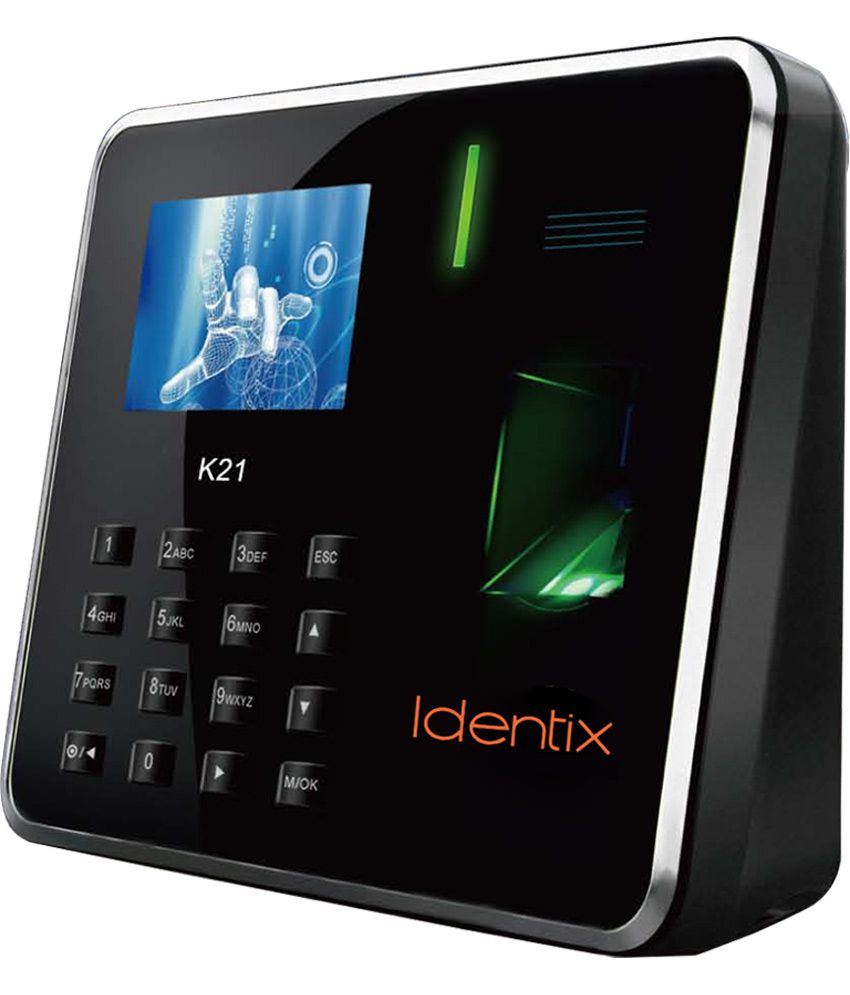 Essl Identix K 21 New Coloured Biometric Time Attendance
