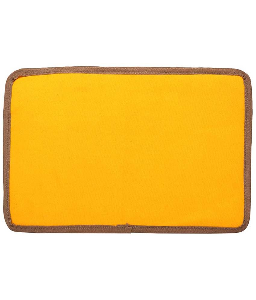 Campus Sutra Yellow Laptop Sleeve