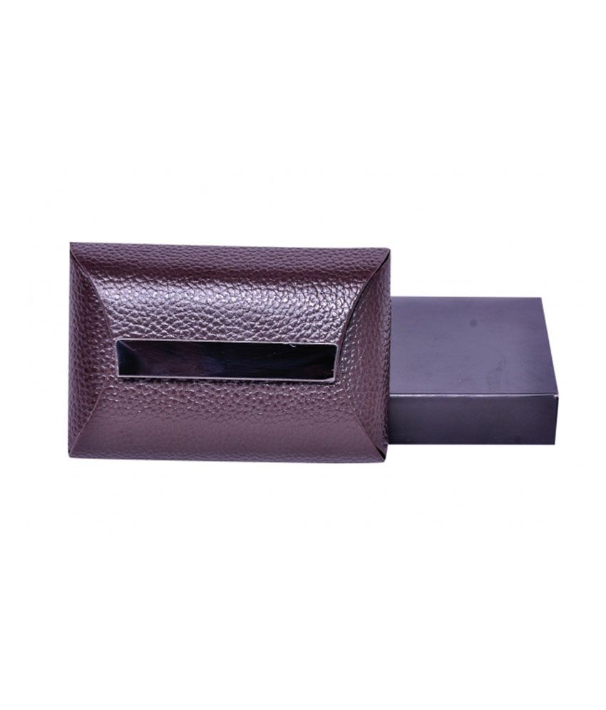 1b8fb488c96e Dolphin Black Rexine Designer Card Holder For Men  Buy Online at Low Price  in India - Snapdeal