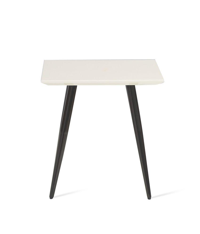 Medley Side Table - @home Nilkamal,  ivory
