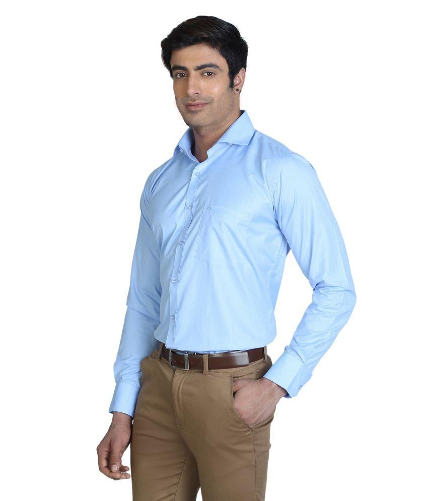 Silver Leaf Men's Formal Shirt - Buy Silver Leaf Men's Formal ...