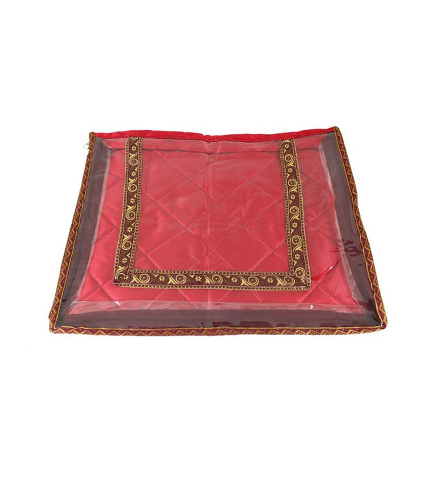 Goldencollections Gc0709 Red Saree Covers