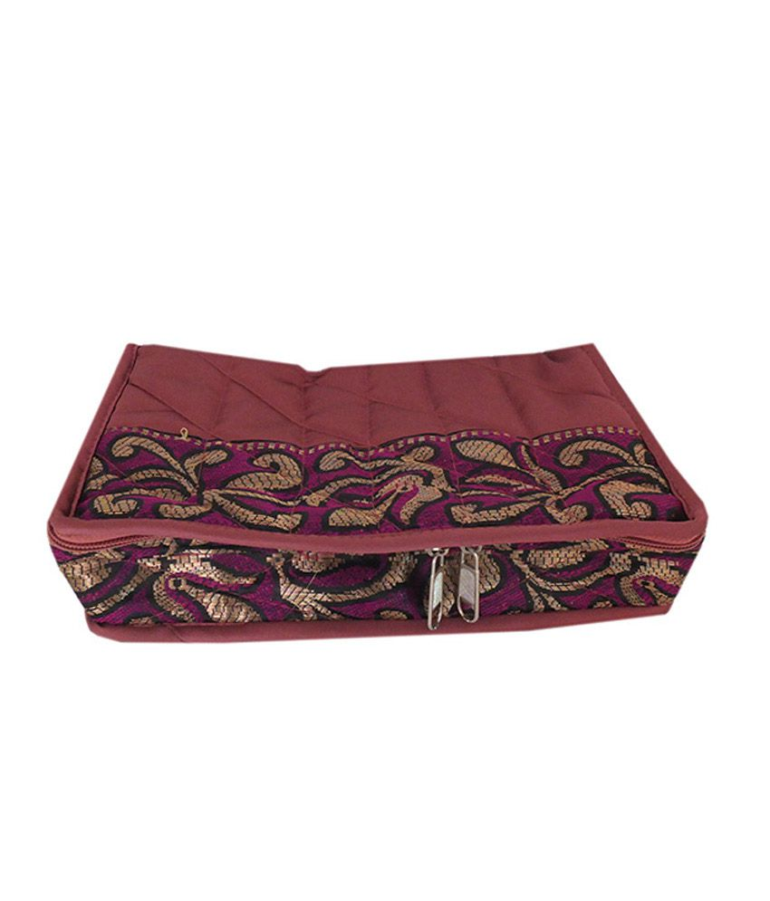 Goldencollections Gc2951 Maroon Jewelry Cases