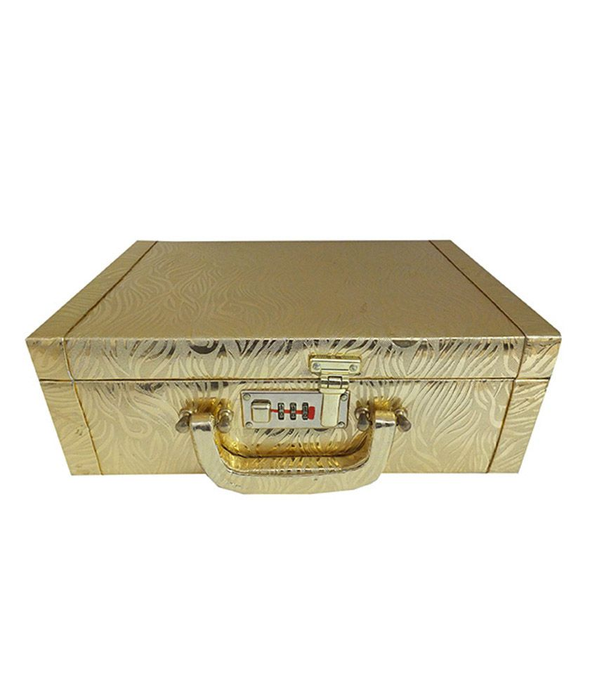 Goldencollections Womens Utility Jewellery Box