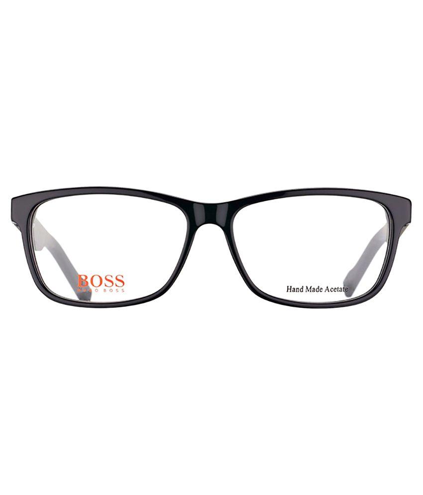 5e87e7dd4f BOSS ORANGE BO 0181 KUN Black Eyeglasses - Buy BOSS ORANGE BO 0181 ...