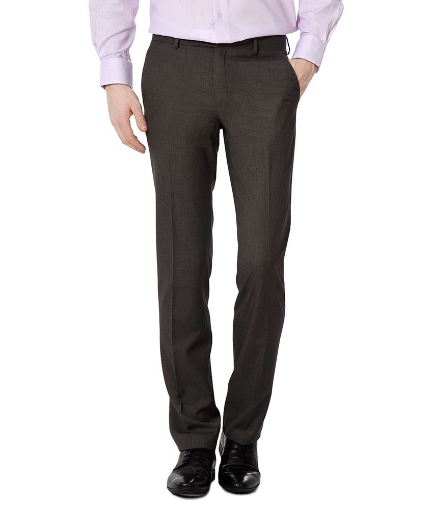 Van Heusen Gray Regular Formals