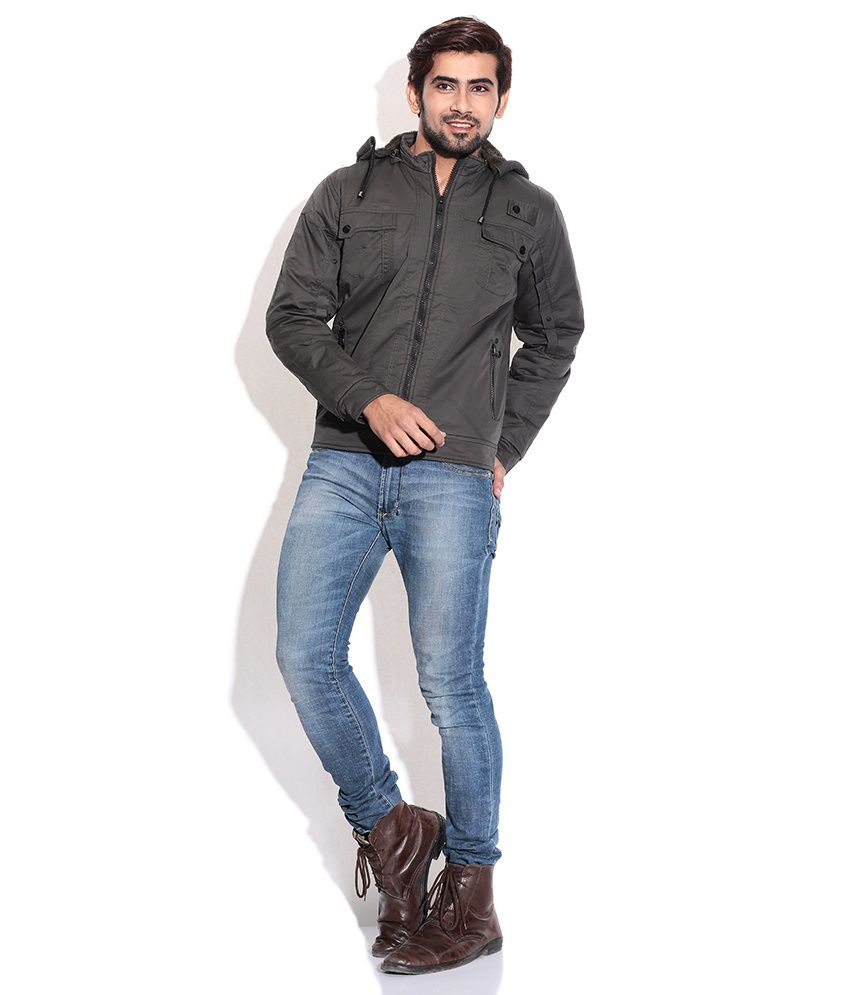 b45d7d76527 La-scoot Mehndi Colour Cotton Bomber Casual Wear Short Belt Jacket ...