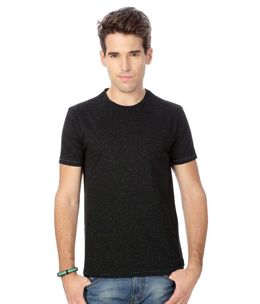 People Gray Cotton Blend T-shirt