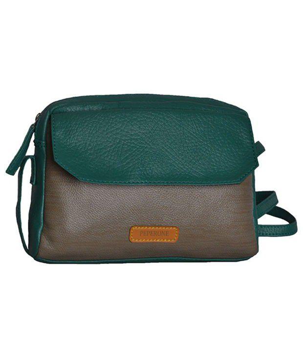 Peperone Pslg597 Brown Sling Bags