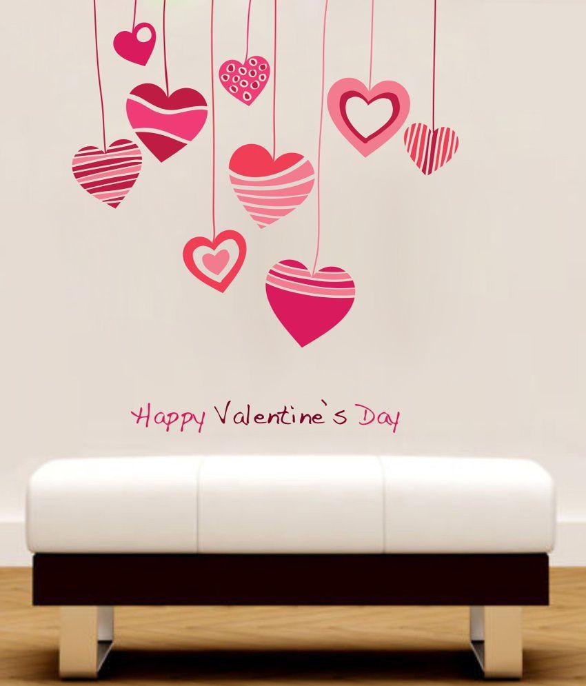 Decor Kafe Happy Valentine 39 S Day Wall Decal Buy Decor