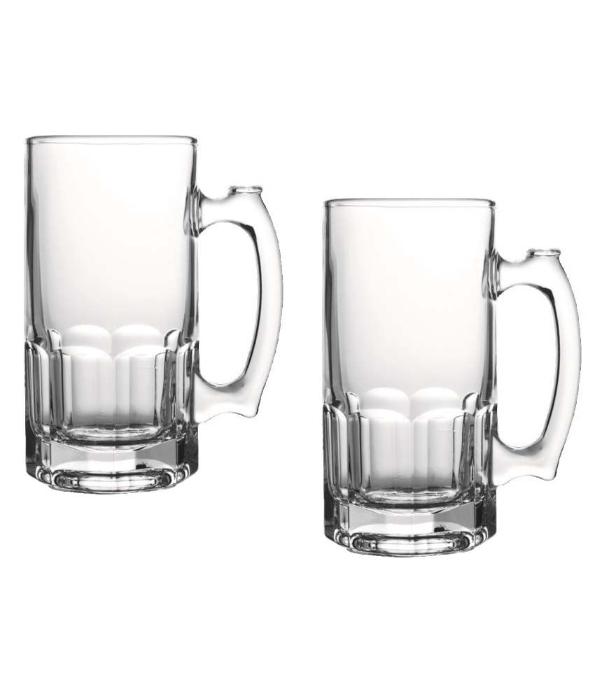 IVEO Glass Beer Mug 70500 ( 2Pcs ) GP Set: Buy Online at Best Price ...