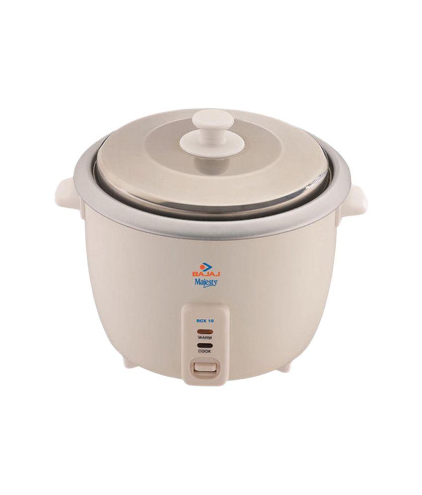ef7194780 Bajaj 1.8 Ltr Rcx 18 Rice Cooker Price in India - Buy Bajaj 1.8 Ltr Rcx 18 Rice  Cooker Online on Snapdeal