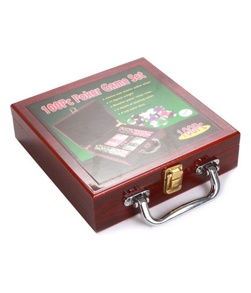 Chrome Casino Poker Chip Game