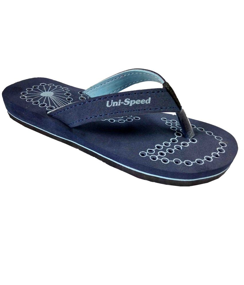 Unispeed Super Soft Accupressure Flip Flops