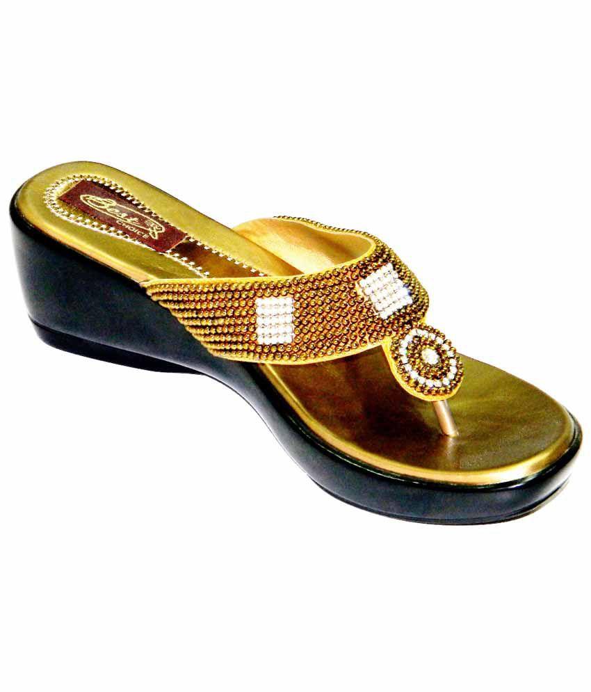 Celebrity Goldenrod Satin Stylish Ethnic Wedding And Party Wear