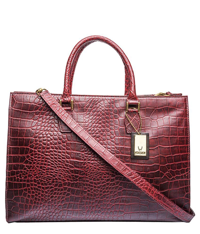 953f411331a Hidesign KESTER Red Tote Bag