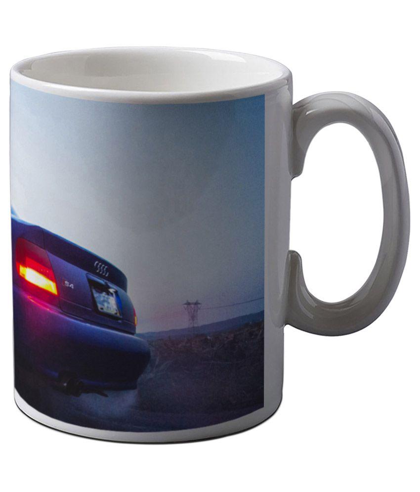 Artifa Supercar Burnout Coffee Mug