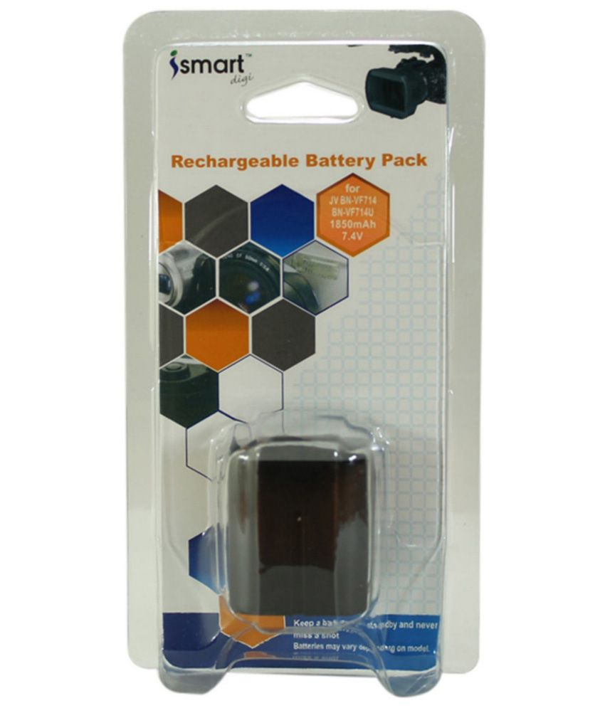 Ismart Replacement Rechargeable Li-ion Battery For Jv Bn-vf714, Bn-vf714u, 1850mah - Black