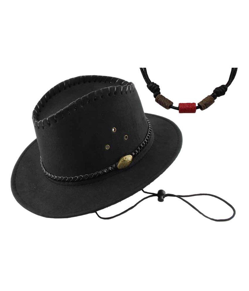 Jstarmart Black Bull Ride Hat With Style Mala