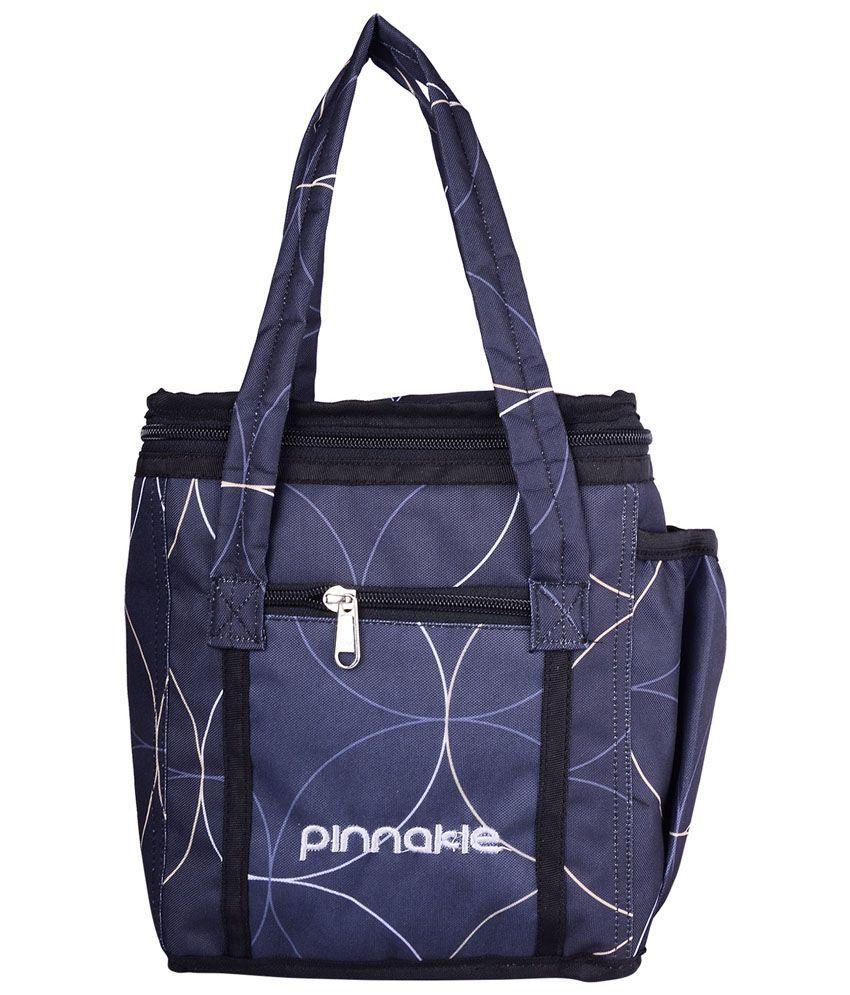 Pinnakle Gray Polyester Lunch Bag