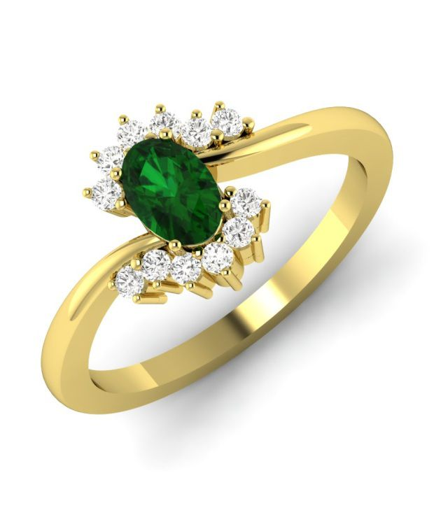 Gold N Stone Inc 18 Kt Yellow Gold And Diamond Ring