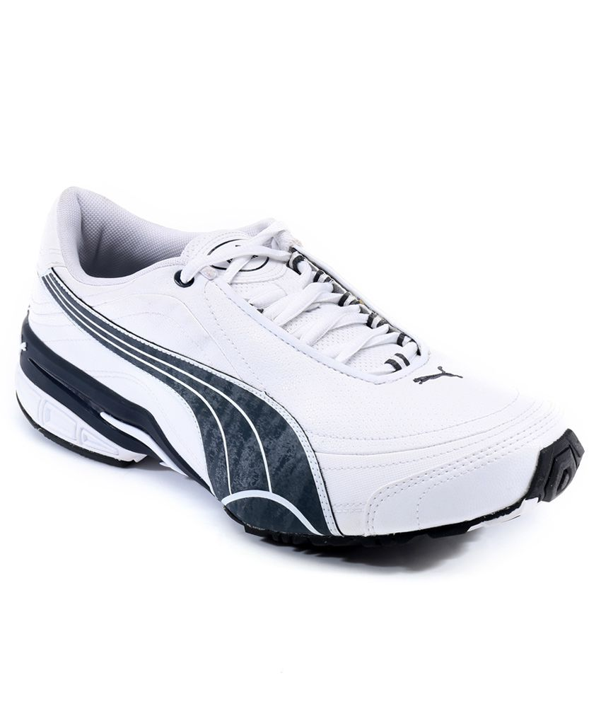 PUMA WHITE TAZON II DP SPORTS SHOES - Buy PUMA WHITE TAZON ...