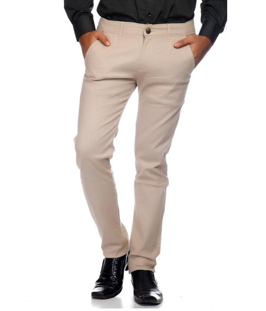 Haltung Fawn Cotton Blend Trouser