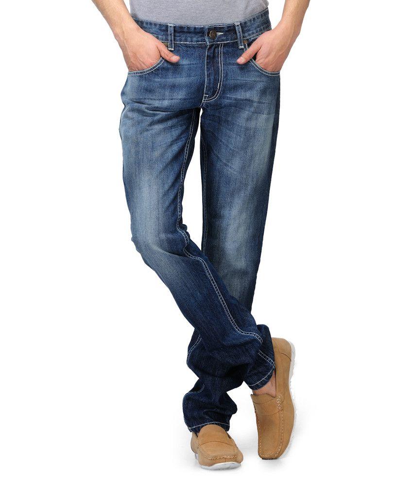 Watershed Blue Slim Fit Denim Jeans