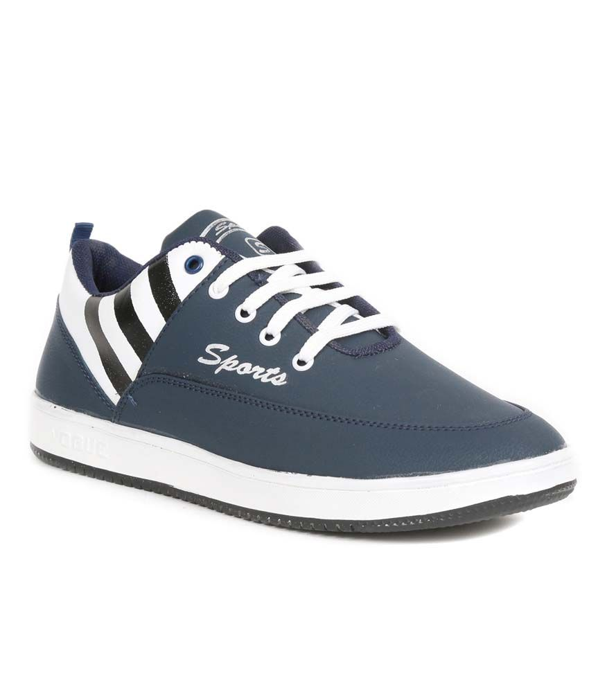 Golden Sparrow Blue Sneaker Shoes