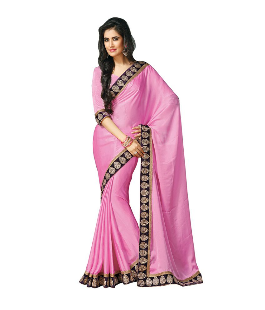 Kaali Fashion Exclusive Embroidered Designer Saree With
