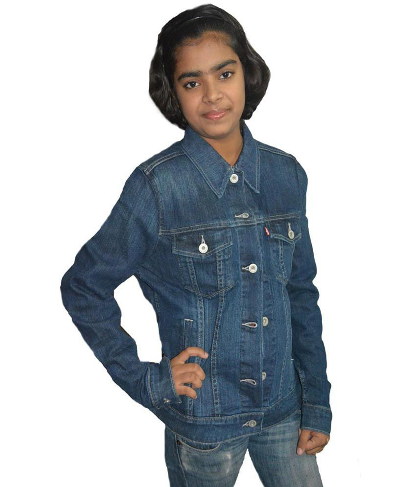 986c1041bd Buy Levi S Blue Denim Denim Jackets Online at Best Prices in India -  Snapdeal