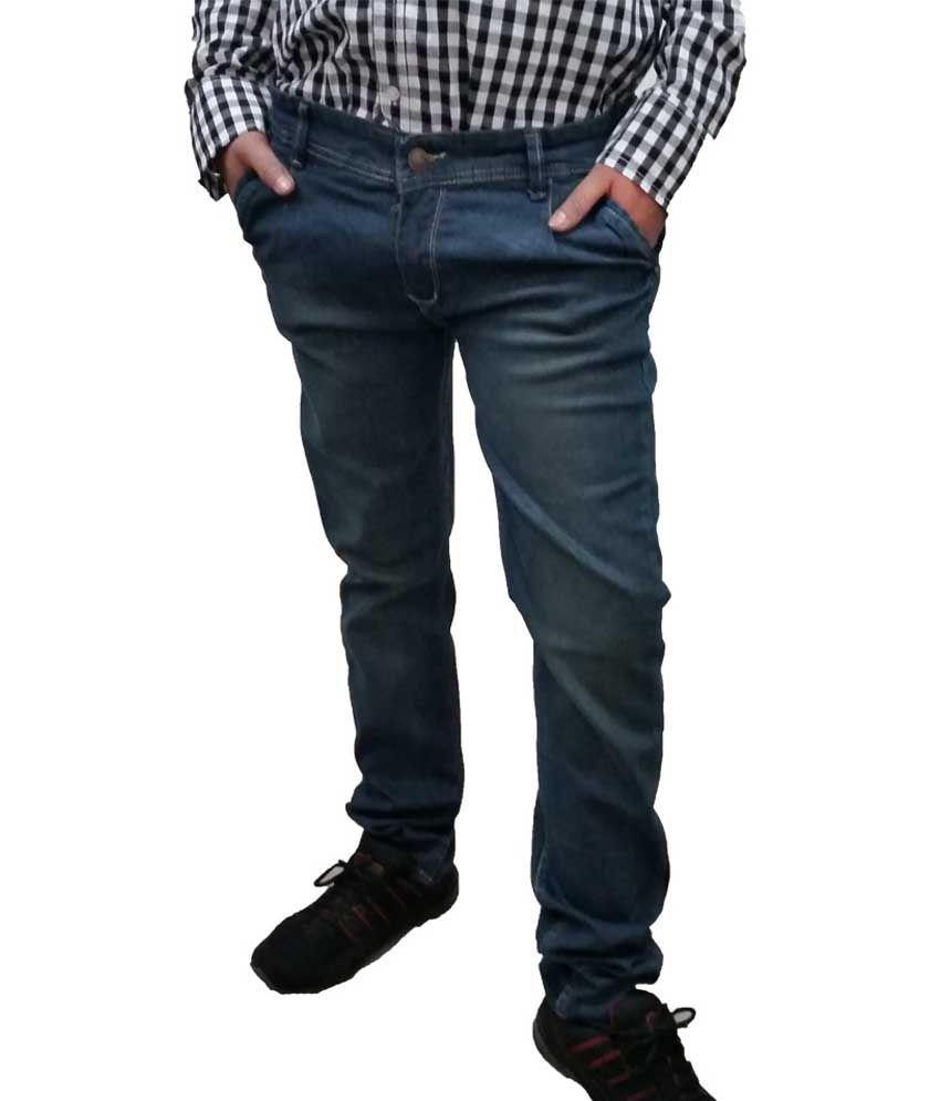 Verceys Black Regular Jeans