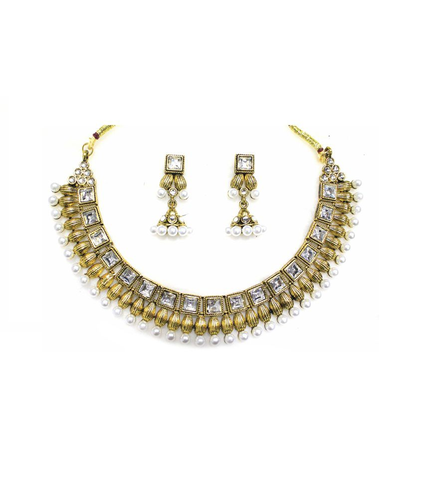 antique indian kumar necklace collections online lalithaa jewellery kiran buy